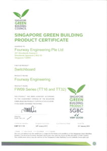 Singapore Green Building Product (SGBP) Certification