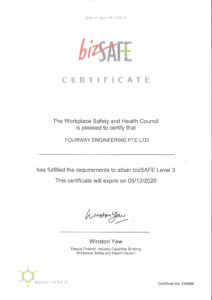 bizSAFE Certification